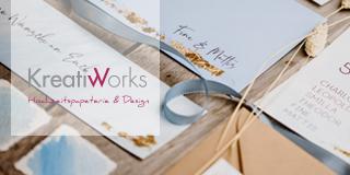 Kreativworks Shop, Hochzeitspapeterie