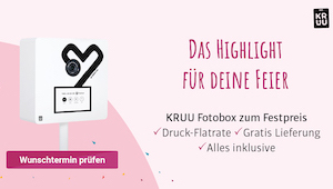 Kruu Fotobox, Fotobox Hochzeit, Photo Booth