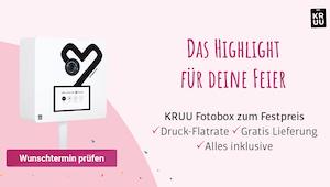 Kruu Fotobox, Fotobox Hochzeit, Photo Booth
