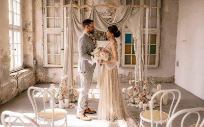Modern Dreamy Romance – Eine moderne Hochzeit in den schönsten Cremetönen
