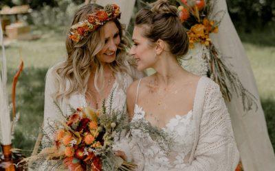 Fire Origins – Ein außergewöhnliches Boho-Hippie Hochzeitsfestival an einem romantischen Seeufer