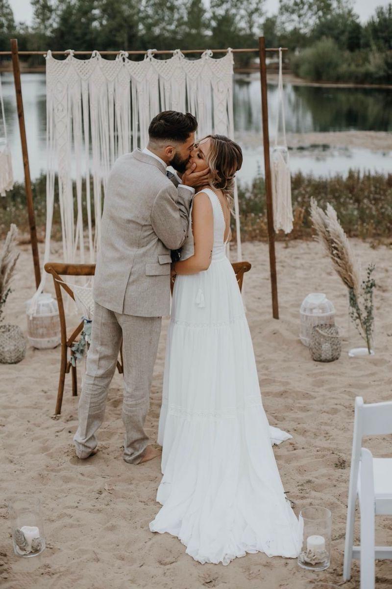 Hochzeitsblog, Hochzeitsinspiration, Strandhochzeit