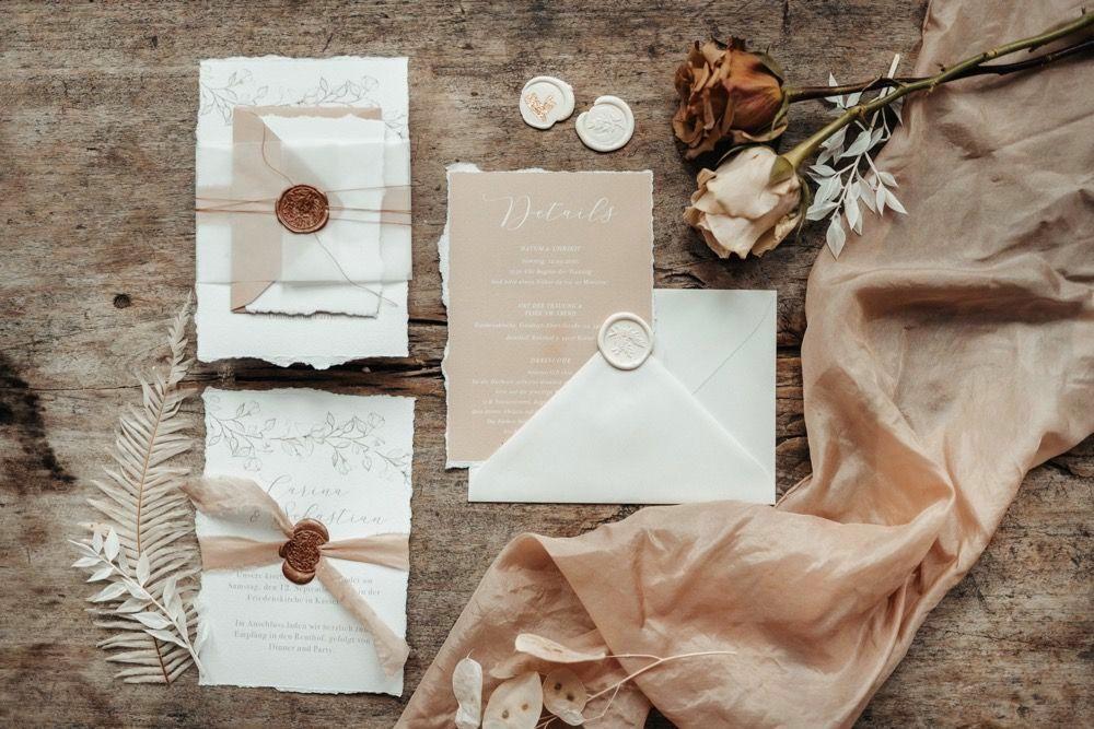 Hochzeitsblog, Hochzeitspapeterie