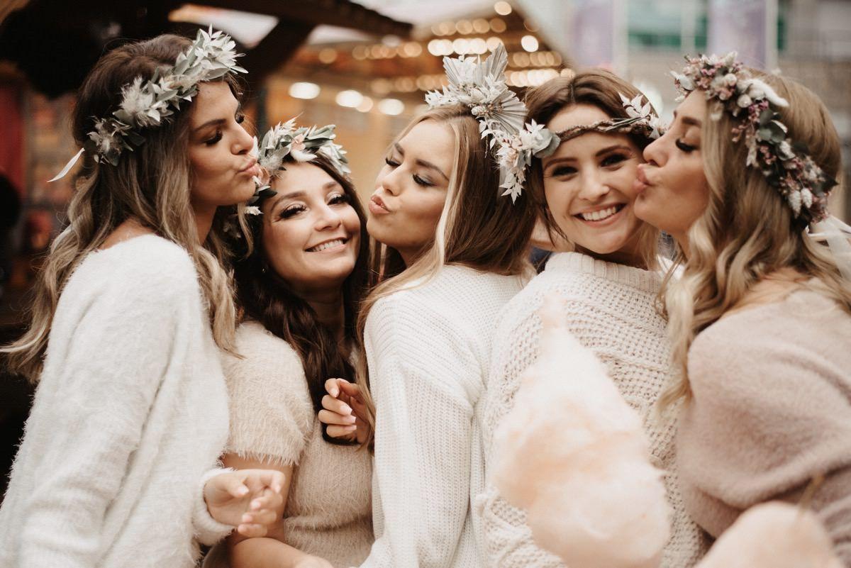 Hochzeitsblog, Hochzeitsinspiration, Brautparty Ideen, JGA Ideen